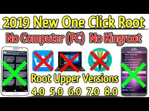 2019 New One Click Root Method [ No PC NO TWRP No Kingroot ] 1000
