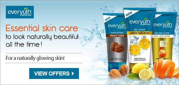 The face is a reflection of one's inner health. Keeping this in mind, Zydus Wellness Ltd. introduced a range of specialty skincare products under the brand name of Everyuth Naturals. These skincare products have been designed to work from within the skin to reflect a clear, beautiful & healthy skin outside.