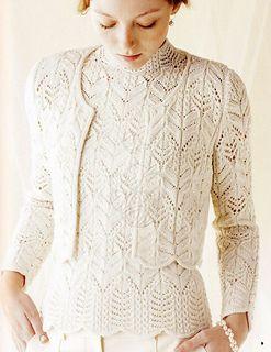 Ravelry: #4 Winter White Cardigan pattern by Hitomi Shida (志田 ひとみ)