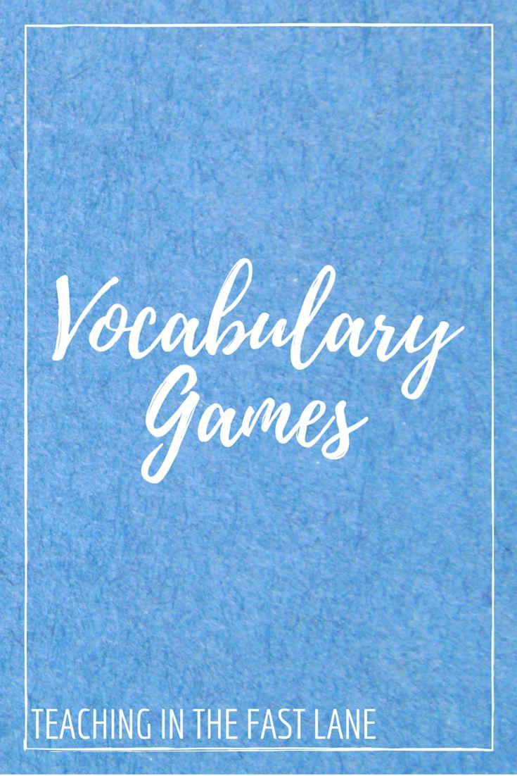 Worksheet Third Grade Vocabulary Games 17 best ideas about vocabulary games on pinterest games