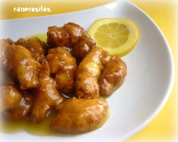 Pollo al limón (Estilo chino) con Thermomix