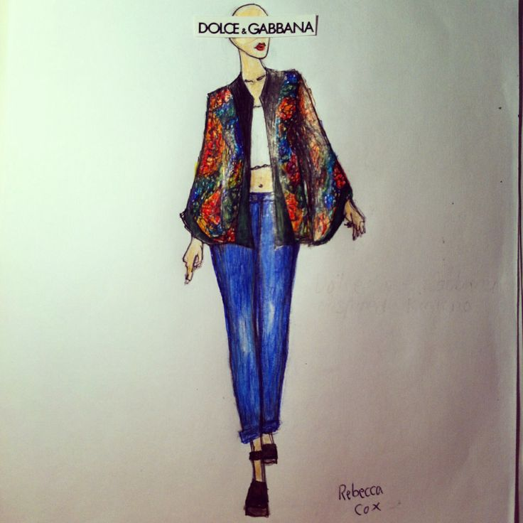 Dolce and Gabbana inspired kimono jacket. Loose boy friend jeans. Chunky brown wedges. Perfect street style outfit.