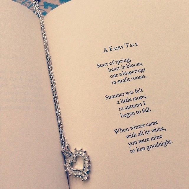 Yes to...fairy tales.