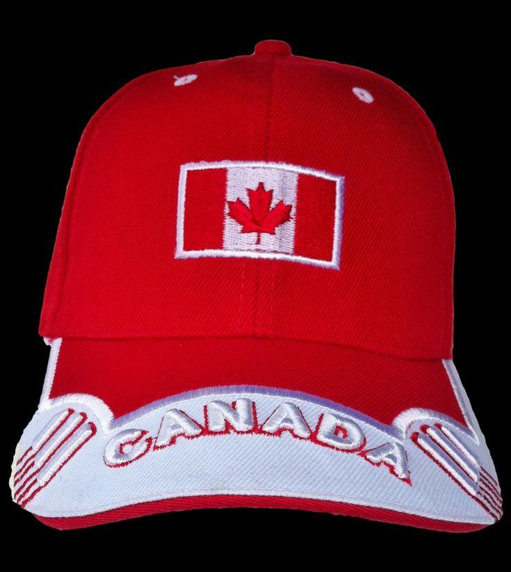 FLAG SOCCER BLUE BASEBALL HAT CAP RED MAPLE LEAF #baseballcap #baseballhat #canada #canadianflag #canadahat #canadacap #cap #hat