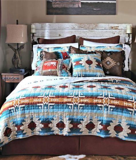 Southwest Quilt Set - Southwestern Bedding, Sheets & Accents