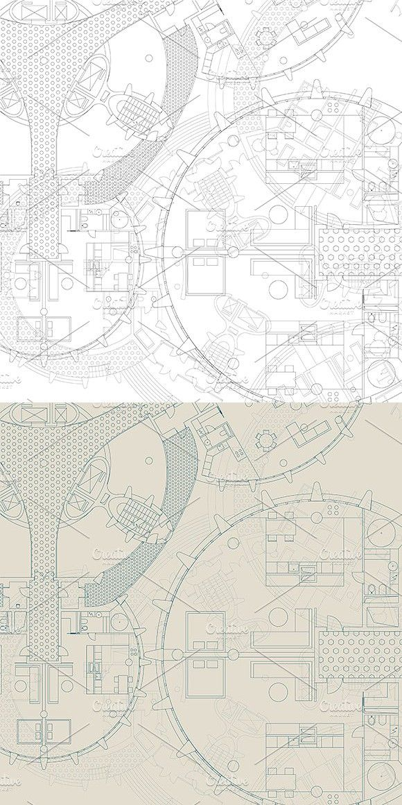 Blueprint Architectural Background Project Design Architecture