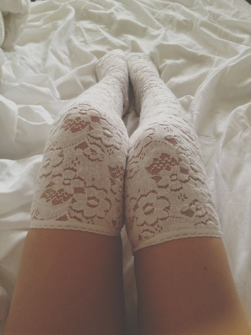 White Lace Stocking                                                                                                                                                     More