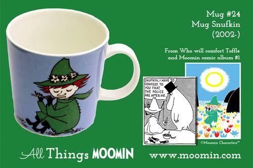 Moomin.com - Moomin mug Snufkin / Snusmumrikken