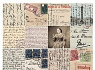 444. Postcards 2-inch squares One