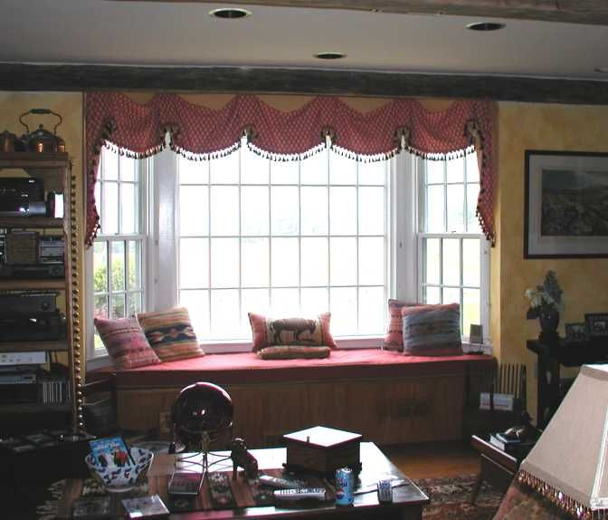 Window treatment for bay window blog archive bay - Living room bay window treatments ...