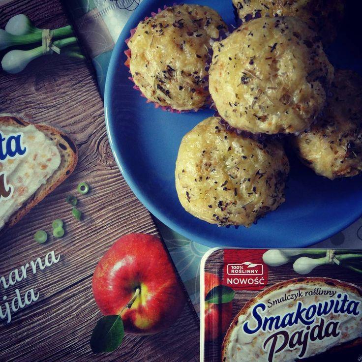 Weekendowe pieczenie: muffinki piwne z serem i cebulką :)  #SmakowitaPajda #SmalczykRoślinny https://www.instagram.com/p/BC2pBvpnoWL/