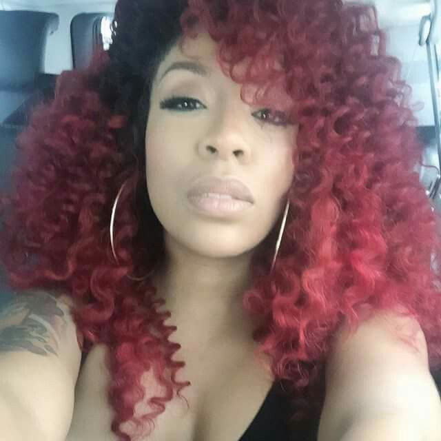 Wondrous 1000 Ideas About K Michelle Hair On Pinterest Red Hair K Hairstyles For Women Draintrainus