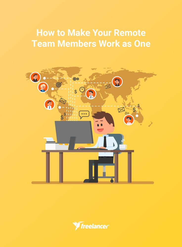 How to Make Your Remote Team Members Work as One #business #businesstips #employertips #freelancing #freelancer #remotecollaboration