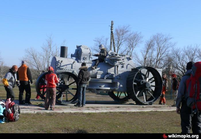 Немецкий паровой трактор - Wikimapia Ukraine / Luhanska / Izvaryne / Власовка