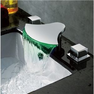 Wasserfall Bad LED Wasserhahn zweigriff                                                                                                                                                     Mehr
