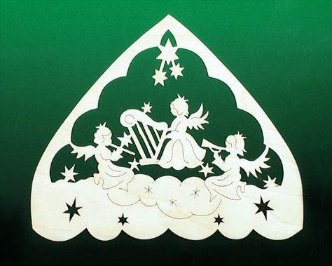 Fensterbild Weihnacht Engel