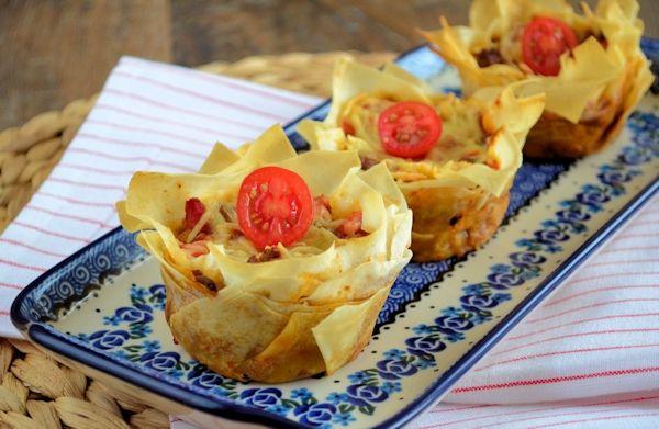 De mini caprese quiches zijn ook geweldig, benieuwd naar deze Italiaanse filodeeg quiches - Laura's Bakery