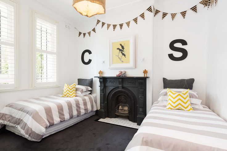 Finished with obvious attention-to-detail. #KidsRooms #ChildrensRooms #Bedroom #InteriorDesign #BedroomDesign #HomeDecor