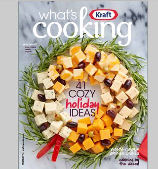 Kraft Canada: FREE Festive Cookbook (pdf)