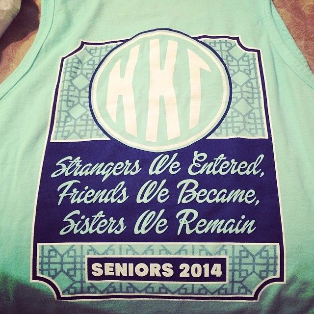 Senior shirts for those graduating.. Here ya go tshirt chair, this would be so cute. Possible chapter gift along with stoles.