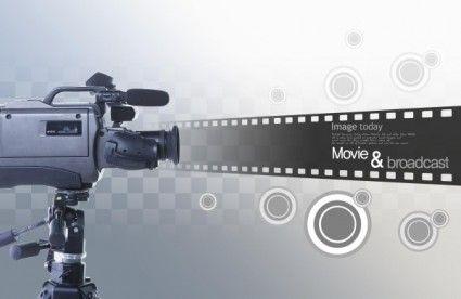 movie theme psd layered 6