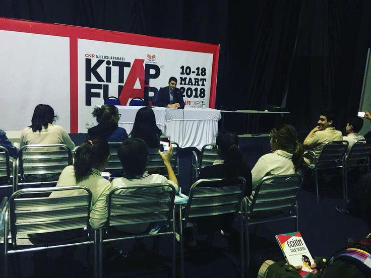 Yazar Yahya Karakurt CNR Kitap Fuarı'nda | Eğitime Dair