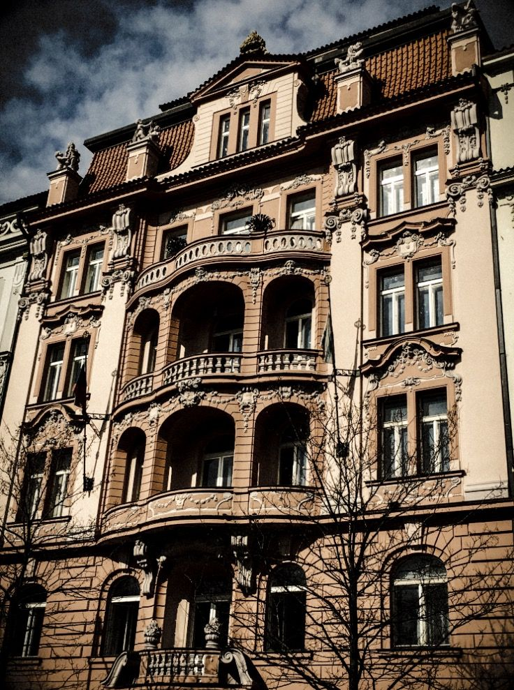Townhouse. Prague. Vinohrady