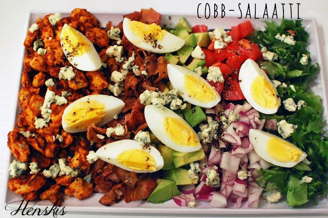 Henskiksen hekumalliset herkut: Cobb-salaatti