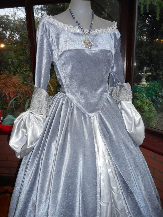 Custom made for you Tudor Anne bolyne medieval theatre stage faerie gothic medieval christmas pantomine to your own measurements and style
