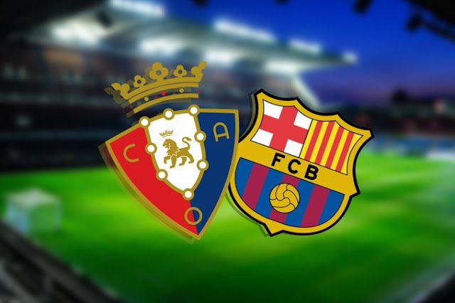 Watch Barcelona Vs Osasuna Live On 31 08 2019 La Liga Vs