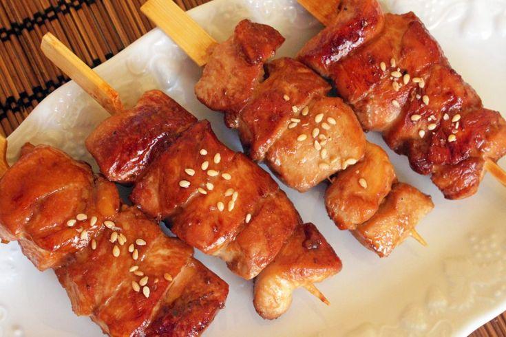 Brochettes de poulet à la sauce piment et soja (Dalk Gotchi) | Kimshii