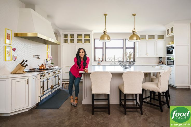 The Food Network star opens up the kitchen in her Walnut Creek, California home