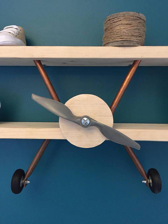Airplane Shelf Diy Deco Chambre Bebe Garcon Chambre Bebe Avion