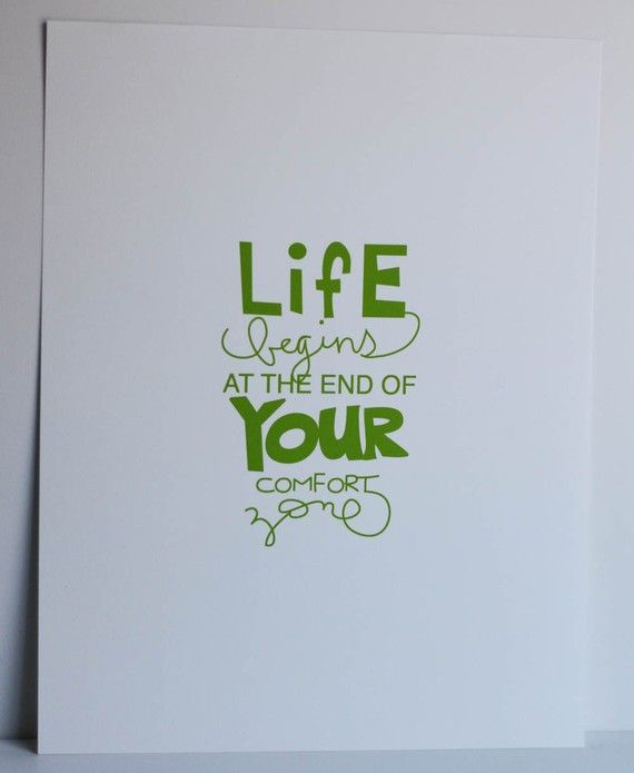 Life begins at the end of your comfort zone: True Quotes, Inspiration, Canvas Design, My Life, Truths, So True, Quotes Life, Fonts, Comforter Zone