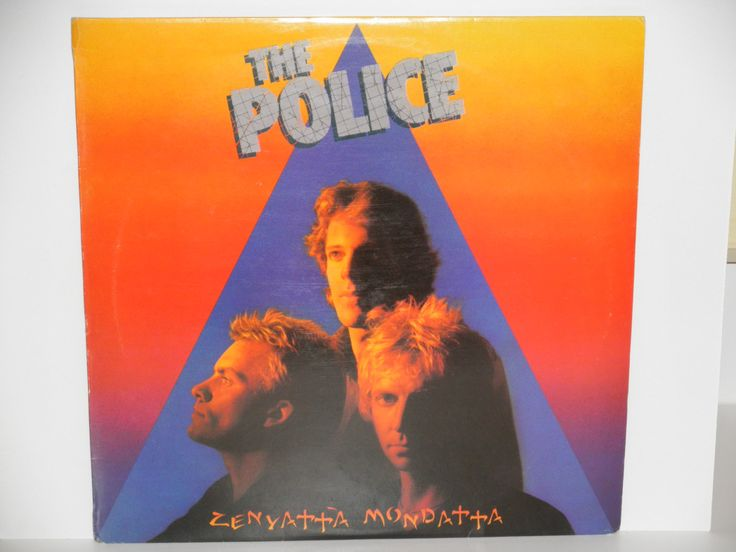 The Police - Zenyatta Mondatta - A&M Records 1980 - Portuguese Release - Vintage Vinyl LP Record ALbum