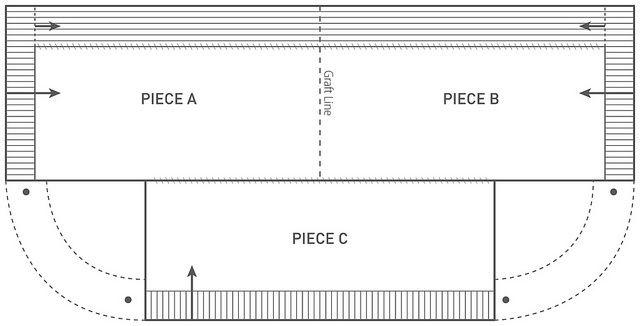 Безрукавка-полупончо (выкройка)