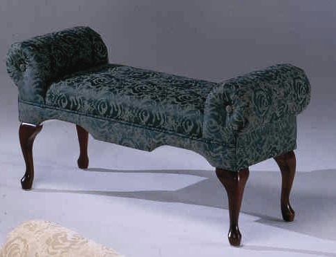 Boudoir Bench W Queen Anne Legs Amp Rolled Arms For The