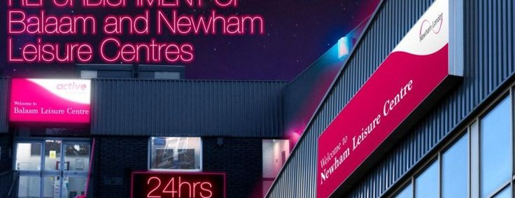 Exciting refurbishments for Newham leisure centres