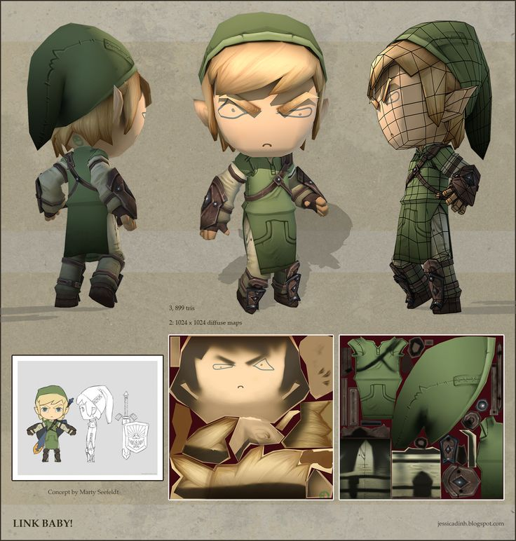 Link Baby! by Jessica Dinh