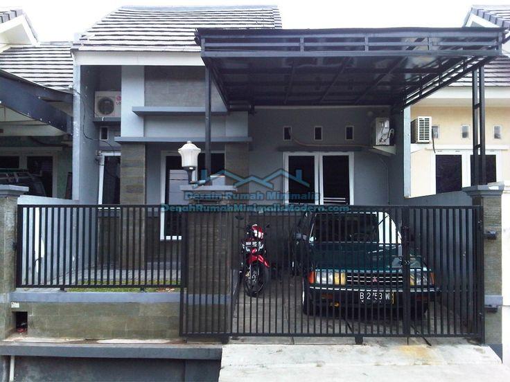 pagar rumah minimalis type 36/60 - Penelusuran Google | rumah minimalis | Pinterest | Haus design Architektur und Gehäuse & pagar rumah minimalis type 36/60 - Penelusuran Google | rumah ...