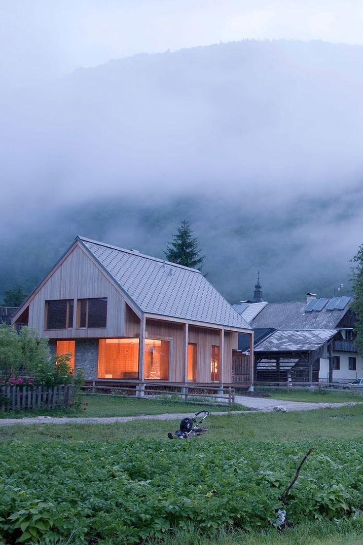 Ofis Arhitekti, Tomaz Gregoric · Alpine Hut
