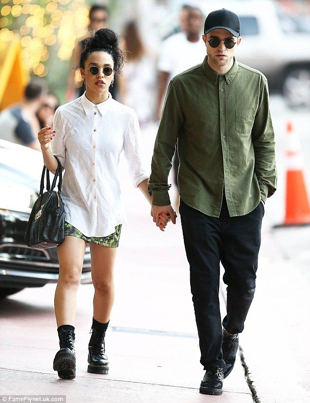 Lovebirds: The singer songwriter has been dating British actor Pattinson for about five mo...
