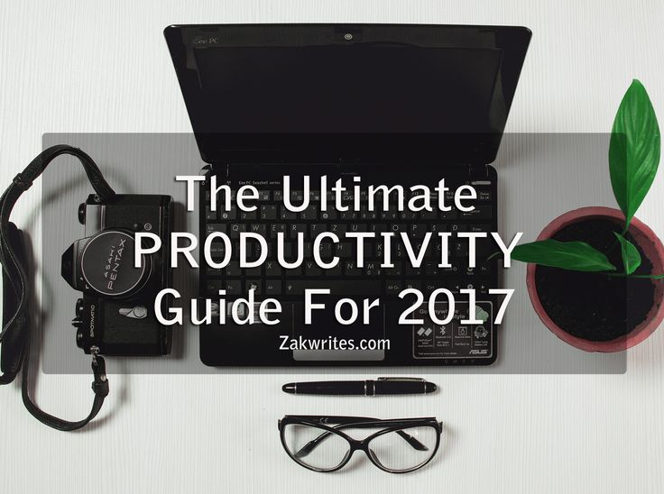 Productivity is one of the hottest topics you can stumble across on the internet . Hundreds of articles, videos and books have been writt...