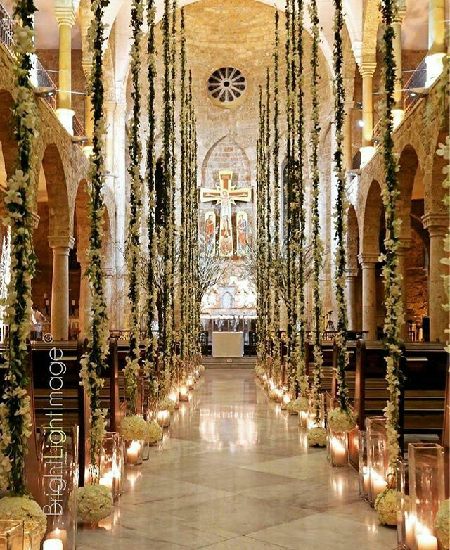 Wedding Chapel Decoration Ideas: Pin By Eliana Espinal On Weddings Ideas In 2019