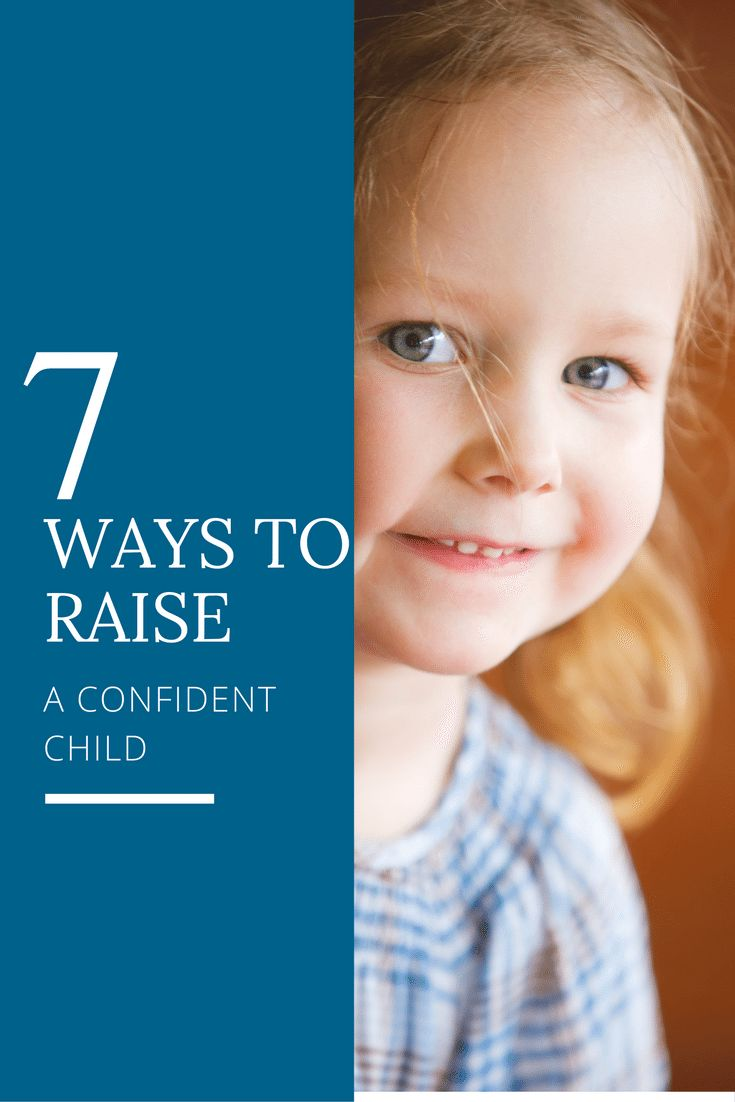 Helping your child gain confidence and self-esteem may be one of the greatest gifts you can give them. Here are 7 steps to raising a confident child! via @marniecraycroft