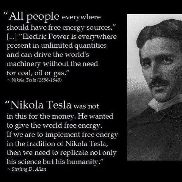 Happy Birthday Nikola Tesla! Thank you for all you contributed to Humanity!!