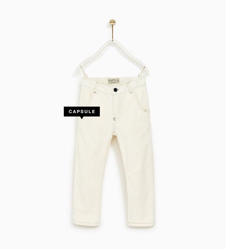 Boys' Trousers | Online Sale | ZARA Canada