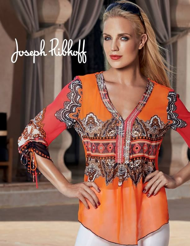 www.bodacious.ca Joseph Ribkoff blouse #ribkoff #ribkoff plus