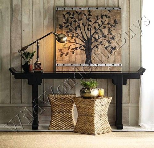 Rustic Hallway Wall Decor : Rustic style tree of life barn wood wall decor plaque