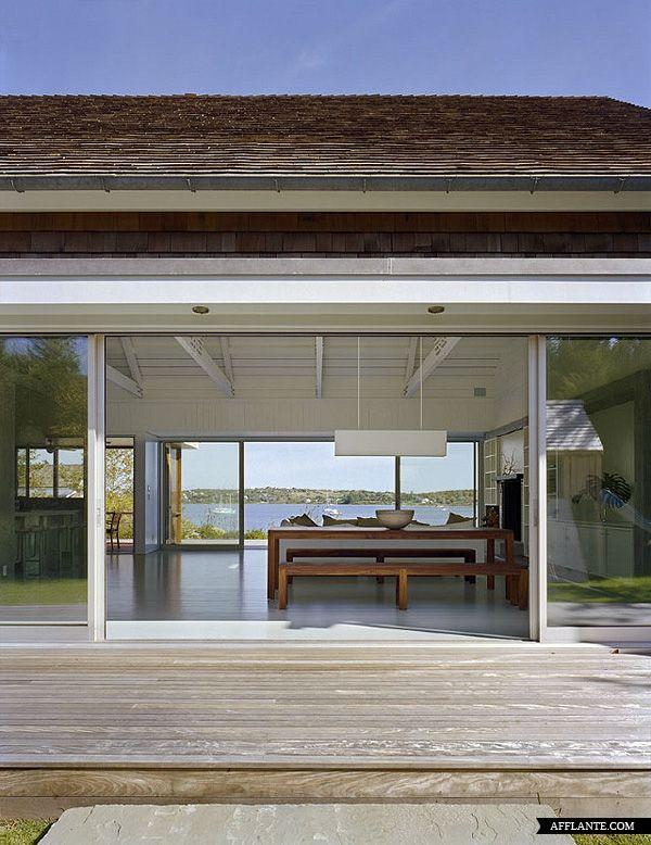 Montauk Lake House // Robert Young Architect